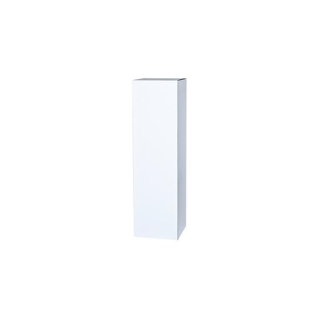 Sockel Pappkarton weiß, 30 x 30 x 100 cm (LxBxH)