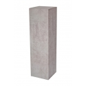 Sockel Pappkarton Beton-Optik, 28,5 x 28,5 x 100 cm (LxBxH)