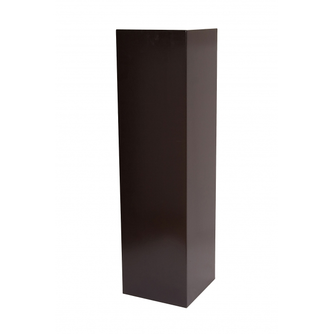 Galeriesockel matt-schwarz, 40 x 40 x 100 cm (LxBxH)