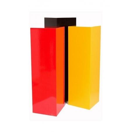 Sockel MDF Farbe 30 x 30 x 80 cm