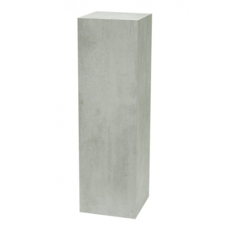 Galeriesockel Beton-Optik, 30 x 30 x 100 cm (LxBxH)