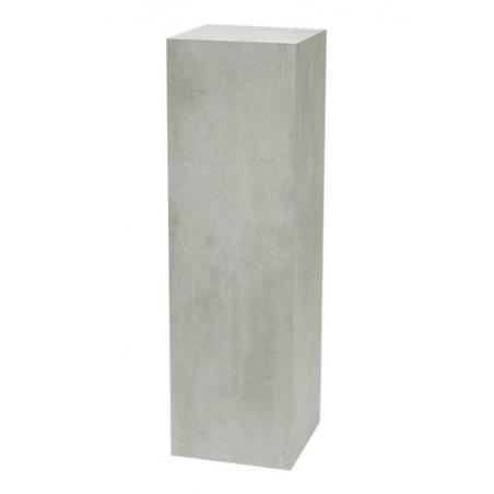 Galeriesockel Beton-Optik, 40 x 40 x 100 cm (LxBxH)