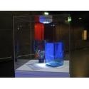 Vitrinenhaube aus extra transparentem 4mm-Acrylglas, 30 x 30 x 30 cm (LxBxH), Kanten poliert & geschliffen
