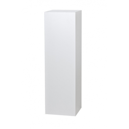 Galeriesockel weiß 35 x 35 x 115 cm