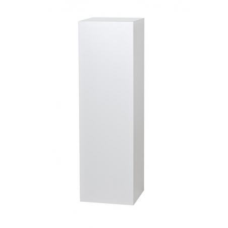 Galeriesockel matt-weiß, 35 x 35 x 115 cm (LxBxH)
