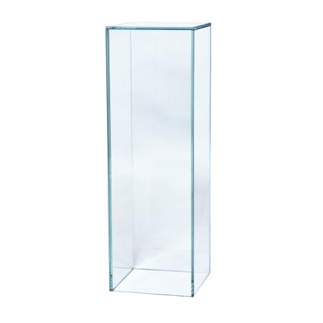 Sockel Glas, 25 x 25 x 60 cm (LxBxH)