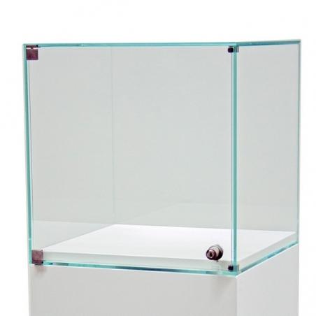 Glashaube mit Tür, 50 x 50 x 50 cm (LxBxH)