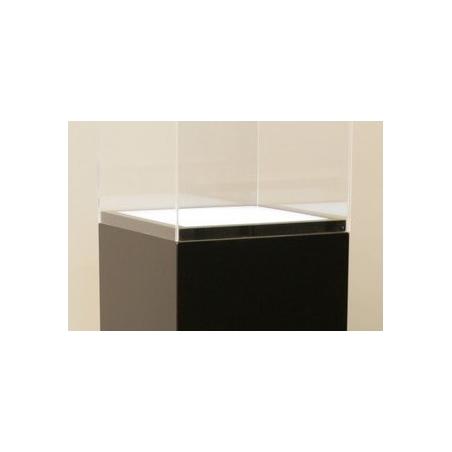 Lichtdurchlässige Acrylplatte (Sockel 30 x 30 cm)