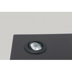 LED-spot, Type 7L, 405 mm, 4x1W, Silver (pro Stück)