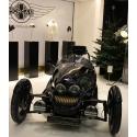 Galeriesockel matt-schwarz, 40 x 40 x 115 cm (LxBxH)