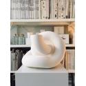 Galeriesockel matt-weiß, 40 x 40 x 100 cm (LxBxH)