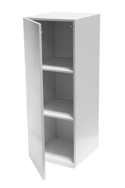 Vitrine Sockel mit Tür weiß
