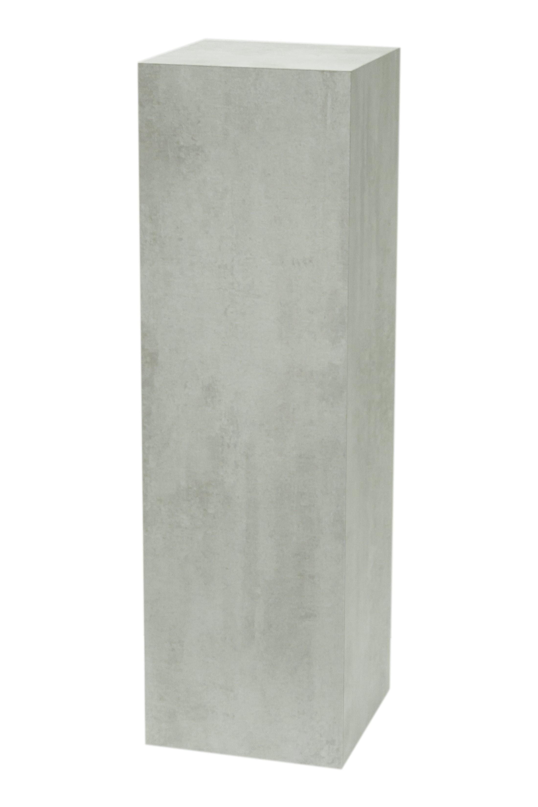 Galeriesockel Beton-optik