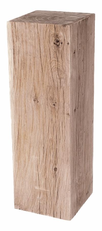 Sockel eichenholz gehobelt